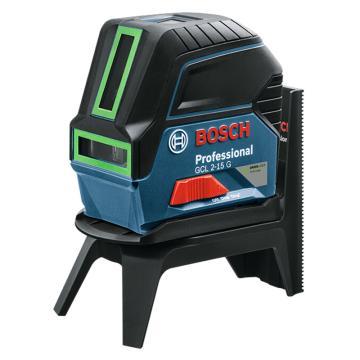 博世/BOSCH 激光水平仪,GCL2-15G,绿光2线2点,产品编号:0601066J00