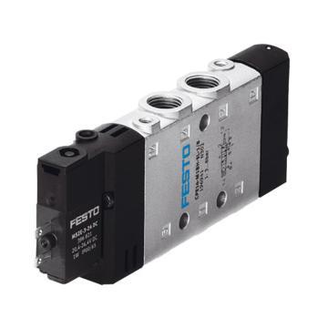费斯托FESTO 两位五通单电控阀,内部先导式,CPE14-M1BH-5L-1/8,196941