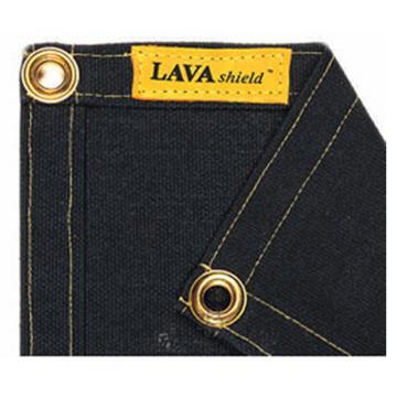 威特仕 焊接防护毯,50-2468,23安黑色玻璃纤维防护毯 1.73x2.34m