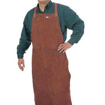威特仕 焊接围裙,44-7148,蛮牛王咖啡色护胸围裙122cm