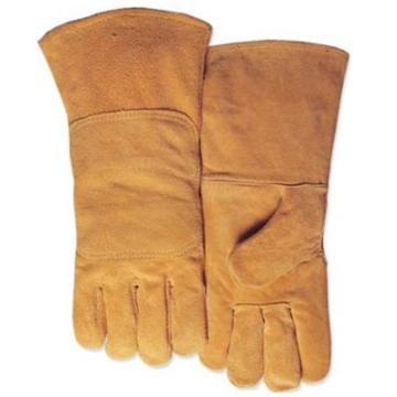 威特仕 焊接手套,10-2118-XL,尊黄色牛二层双背皮款