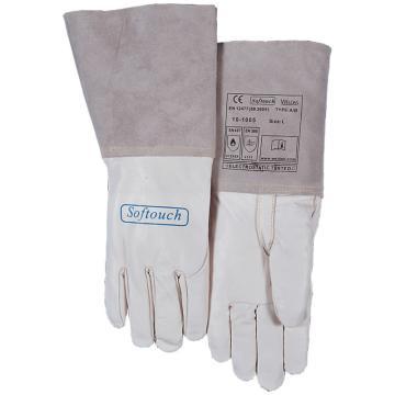 威特仕 白色牛青TIG手套 ,10-1005-L