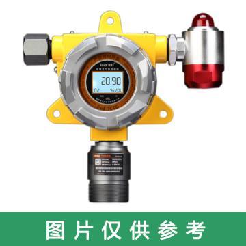 万安迪 固定式氧气检测仪,FIX550系列,0-25%.Vol 常规性能,黑白屏显示 声光报警