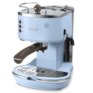 德龙Icona复古系列泵压式咖啡机-海洋蓝 ECO310.VAZ