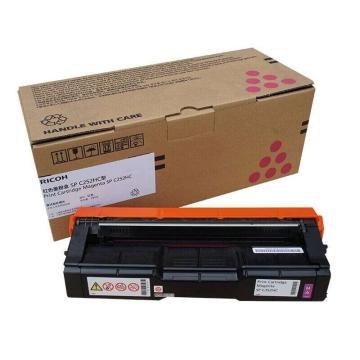 理光红色高容墨粉盒SP C252HC型(407726)适用C252DN/C252SF 打印6000页
