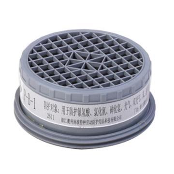 南核 2011 P-B-1 滤毒盒1#,防护无机气体或蒸气,适用于2028,2628,