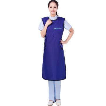 无袖单面式射线防护服,0.50mmPb,宝蓝色,L