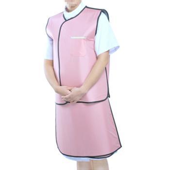 PC超柔软型X射线防护裙,分体无袖双面式,PC06,0.35mmPb,XL
