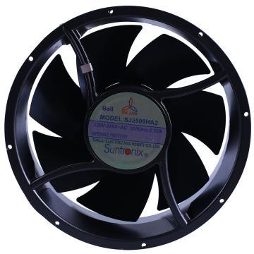 三巨 散热风扇(全圆型),SJ2509HA2,220V,导线式,滚珠轴承,254×89mm