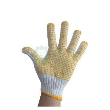 650g回棉点塑手套,12副/打