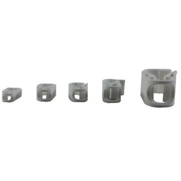 罗伯特夹,ABS,适合软管外径:4mm,10个/包