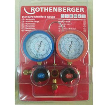 罗森博格 标准表组组套,R410A(含900mm充气软管)