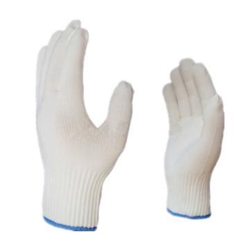 海太尔 80-227-8 洁净手套,针织手腕,白色,235mm