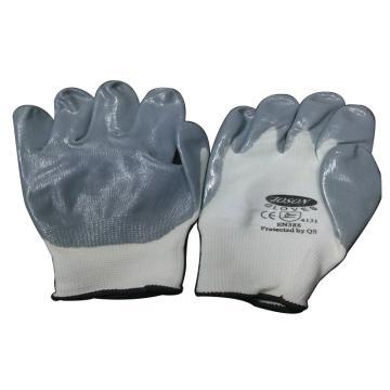 强生 82003507C-7 丁腈浸胶手套(7寸)