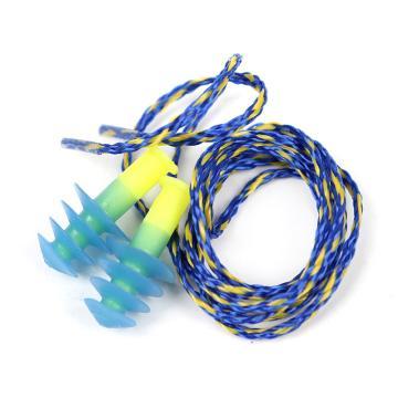 霍尼韦尔Honeywell 可重复使用耳塞,FUS30,FUSION 圣诞树型硅胶材质 带线 大号 附盒,100副/盒