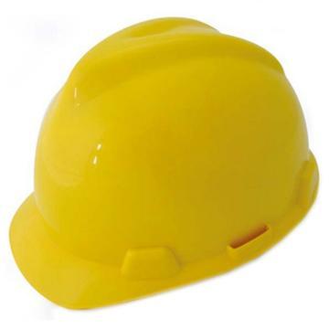 羿科 安全帽,60102801-Y,AV60 ABS V型安全帽 黄色