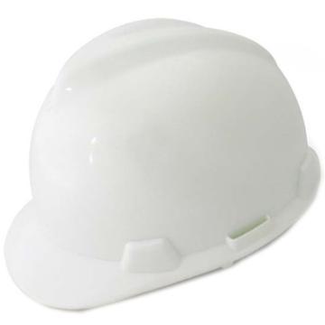 羿科 安全帽,60102801-W,AV60 ABS V型安全帽 白色
