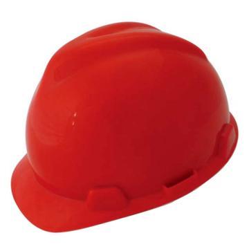 羿科 安全帽,60102801-R,AV60 ABS V型安全帽 红色