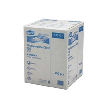 多康 特级重任务清洁布卷式,白色 (380*320mm 280张) 106.4米/卷 1卷/袋