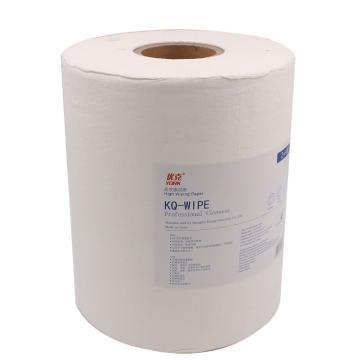 优克加强擦拭纸,白色单层 290x300mmx450张/卷 4卷/箱