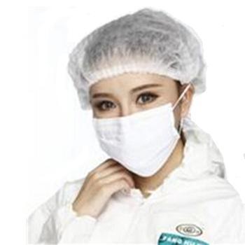 冠桦 发套,1500白,15g无纺布条帽 白色,50个/包