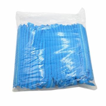 冠桦 发套,1000蓝,10g无纺布条帽 蓝色,100个/包