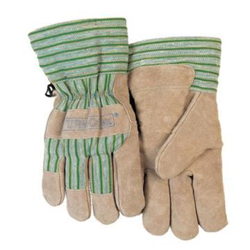 威特仕 防寒手套,10-2255L,牛二层芯皮掌抗冻劳保手套