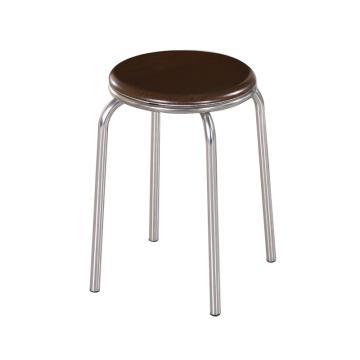 不锈钢圆凳, 凳面直径30cm,高46cm