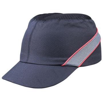 代尔塔102150  轻型透气防撞运动安全帽,黑色,帽檐5cm,20顶/箱