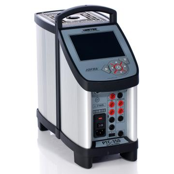 阿美特克/AMETEK PTC-350B专业型干体炉,温度范围:33~350℃,含参考探头输入/被检表信号输入,需另配套管使用