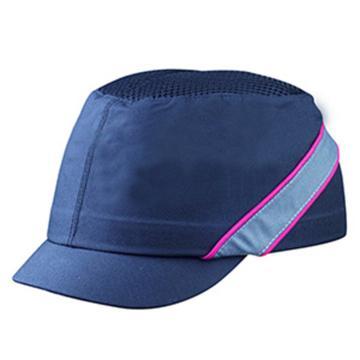 代尔塔102130 轻型透气防撞运动安全帽,黑色,帽檐3cm,20顶/箱