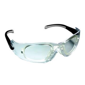 MSA 9913282 阿拉丁-C防护眼镜 黑/银色镜脚 防紫外线透明镜片