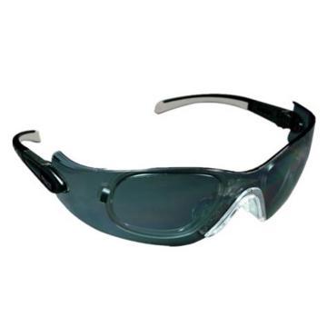 梅思安MSA 防护眼镜,9913280,阿拉丁-G 灰色镜片,12副/盒