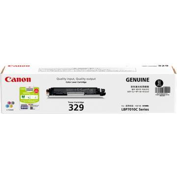 佳能(Canon)CRG-329 BK 黑色墨粉(适用于LBP7010C/LBP7018C)