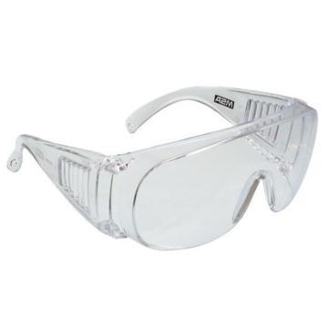 梅思安MSA 防护眼镜,9913263,宾特-CAF防护眼镜(透明镜框 防雾防紫外线透明镜片)