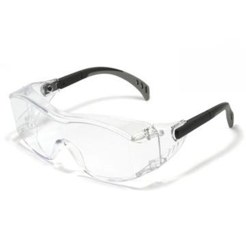 梅思安MSA 防护眼镜,10147394,安特-CAF 透明防雾镜片,12副/盒