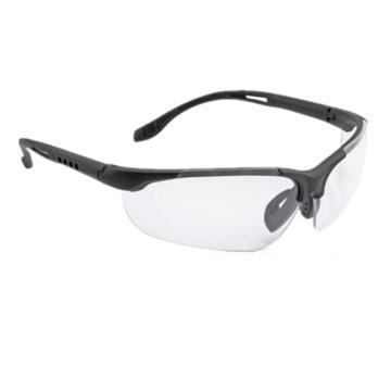 梅思安MSA 防护眼镜,10147393,迈特-CAF 透明防雾镜片,12副/盒