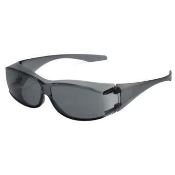 梅思安MSA 防护眼镜,10147350,小宾特-G 灰色镜片,12副/盒