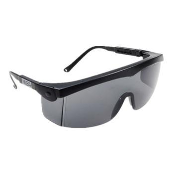 梅思安MSA 防护眼镜,10108429,杰纳斯防护眼镜 灰色镜片,12副/盒