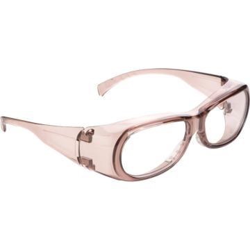 梅思安MSA 防护眼镜,10108314,酷特-C防护眼镜(透明镜框 防紫外线透明镜片)