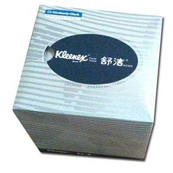 KLEENEX® 舒洁® 双层盒装面纸,80张/盒x60盒