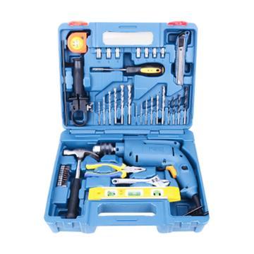 东成冲击电钻套装,220V500W ,夹持尺寸10mm,Z1J-FF04-13