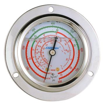 格美 埋入式充油大压力高压表,CM-800-FRG-O-R410,R410
