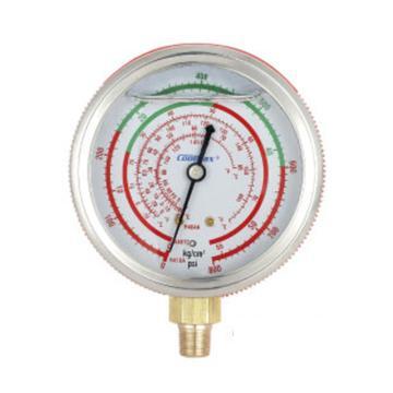 格美 直立式充油高压表,CM-800-R410-G-O,R410