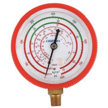 格美 直立式高压表,CM-800-R410-G,R410