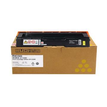 理光墨粉,SPC220型(黄色,适用SP C220N/222DN/220S/221SF)(EDP:406210)