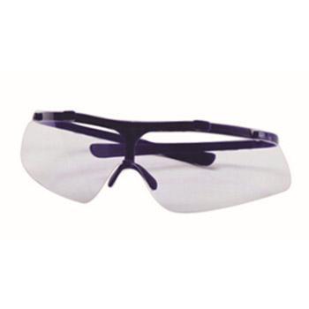 以勒防护眼镜,蓝色镜框,透明镜片