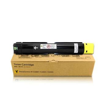 富士施乐 2260/2263/2265粉盒,适用第四代 黄色墨粉15000页 CT201441 单位:瓶
