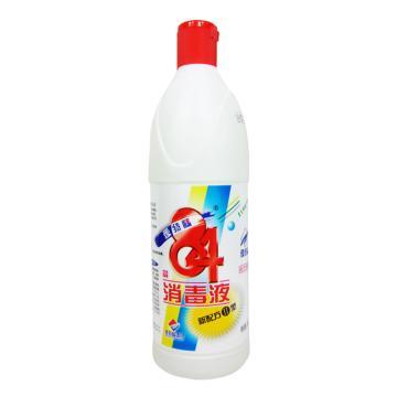 爱特福84消毒液,750ml 单位:瓶