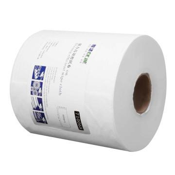 强力高效擦拭布 25cm×38cm×500张/卷 2卷/箱  白色